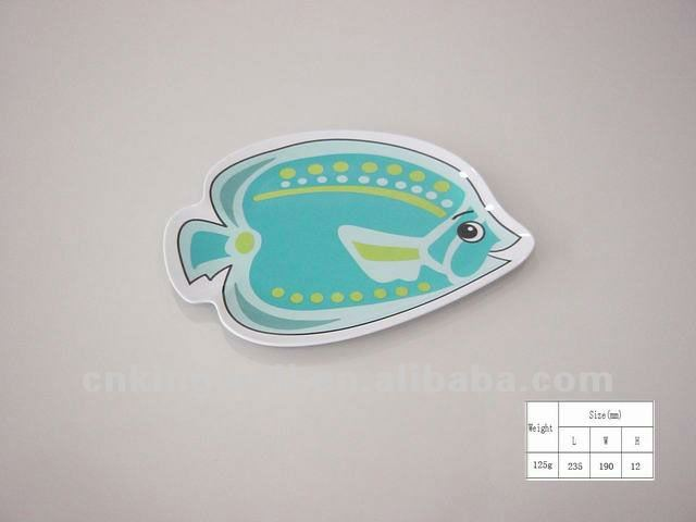 Hot sale fish shaped antique food tray