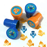 48ct New Design Fashionable Clown Fish Stampers with Self Ink Rubber Stamps