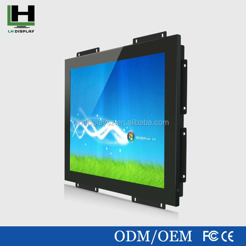 dvd headrest monitor 19 Inch Metal Shell Open Frame Touch Screen Monitor