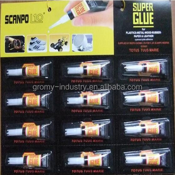 Black Card 12 Packs Super Glue