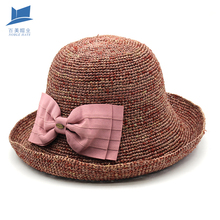 High Quality Floppy Straw Hat Cheap Boater Straw Hat