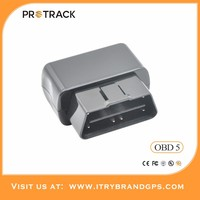 PROTRACK good quality gsm gps gprs vehicle tracker plug&play OBD2 interface real time tracking vehicle gprs car tracker