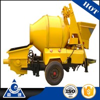 HBT1506-JZC350 weigh batching harga concrete mixer with pump