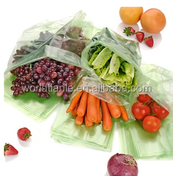 PE flat food preservation kits/fruit and vegetable storage bag/Freshness protection package