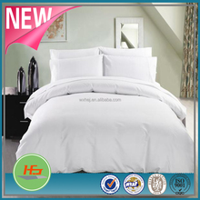 hight quality cheap cotton white hotel use sheet set with pillowcase/fitted sheet/flat sheet