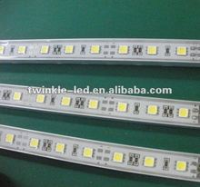 2012 new rigid aluminium 60CM hard LED DIMMABLE TOUCH BAR/strip light