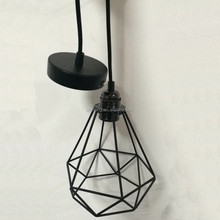 new design metal cages pendant light/ceiling rose with E27 socket