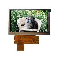 5 inch HD LCD Display Screen with 800x480 Dots, TFT LCD Module