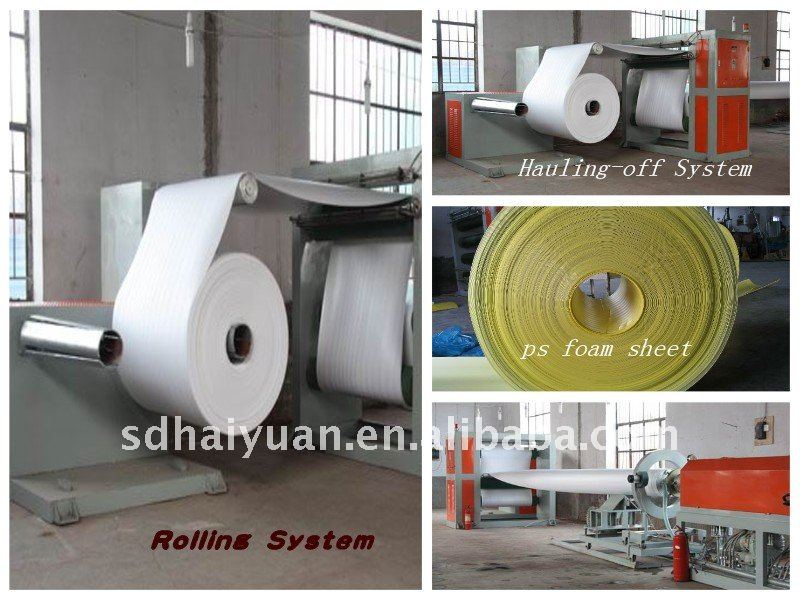 Foam Polystyrene Sheet Making Machine