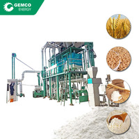 100 ton per day wheat flour mills in Zambia