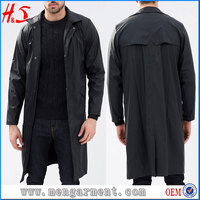 Online Shopping Best Selling Trench Coat Water-Resistant Rain Coat For Men
