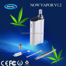 Palm size handy discreet herb/wax/oil vaporizer fantasy vaporizer pen with newest healthy material and technology