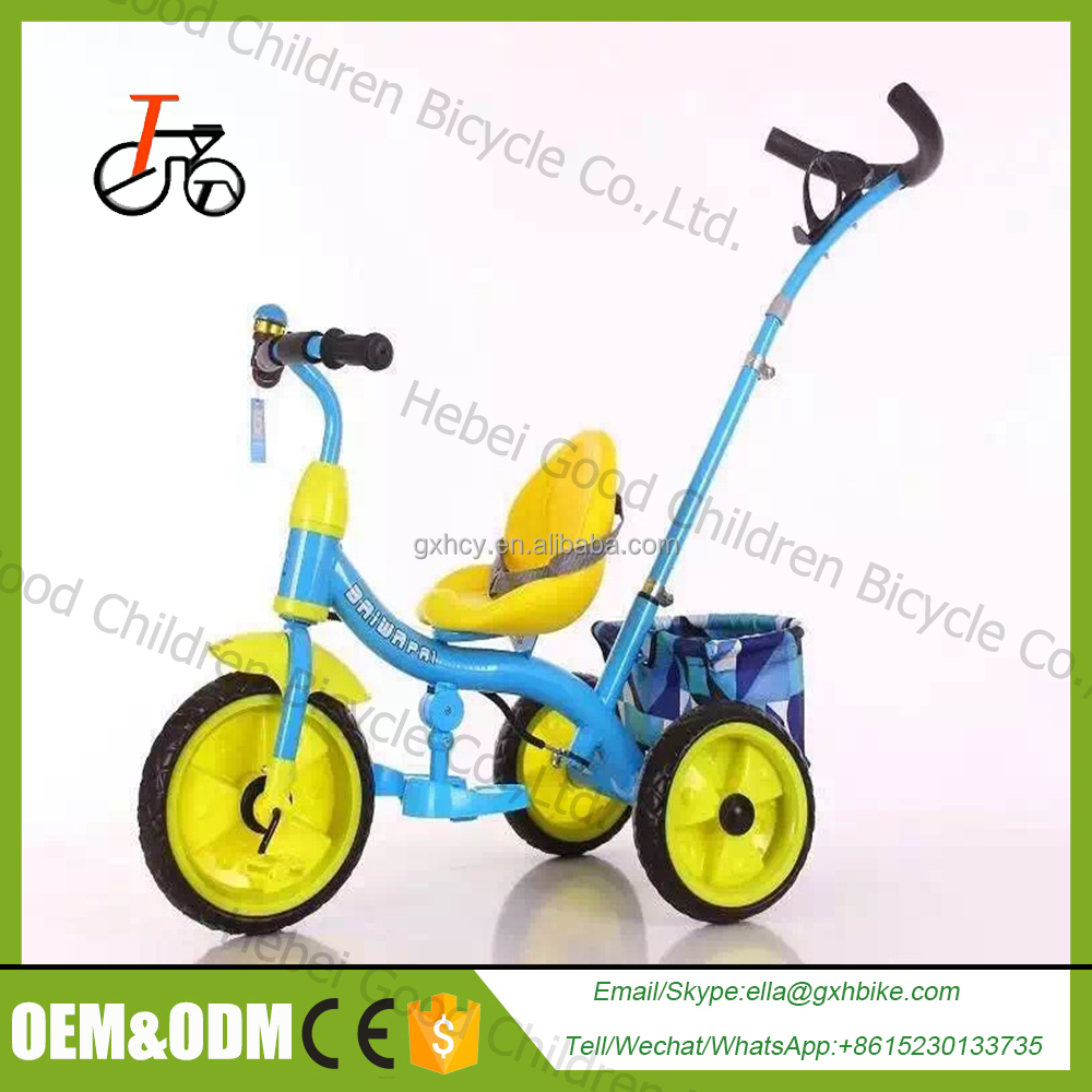 360 degree kids tricycle and trailer / kids trike for children / new model baby stroller tricycle