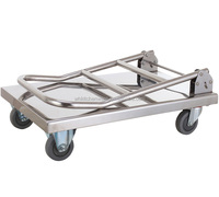 Heavy Duty & Bearing Stainless Steel garden trolley wagon cart hand truck
