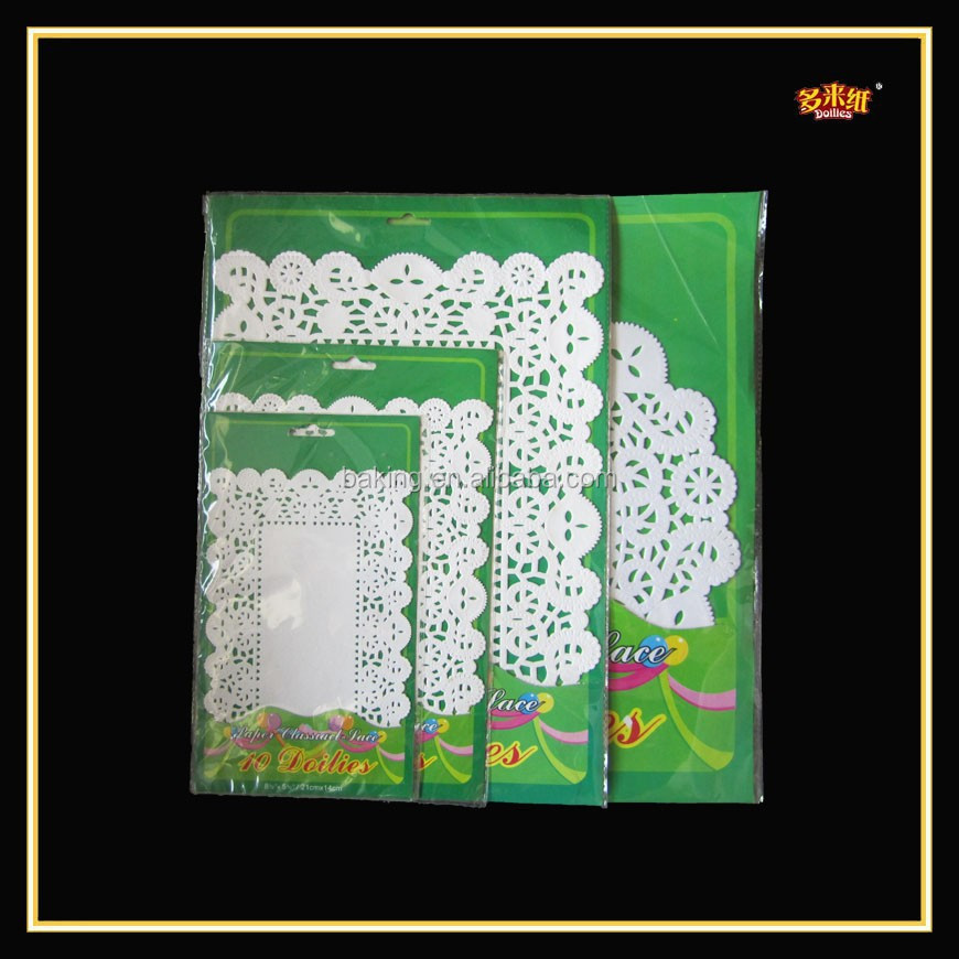 All Custom Sizes Table Cloths Paper Doilies With One-off Paper