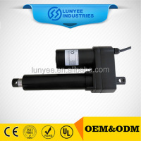 DC permanent magnet motor,firm structure linear actuator with 7000N load force