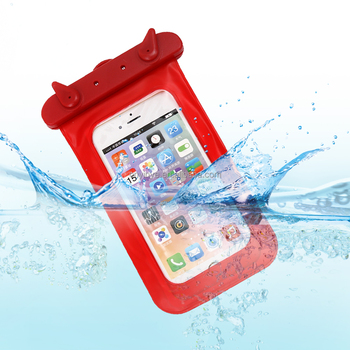 candy color pvc waterproof bag for mobile phone ,high quality waterproof beach bag for keys , money