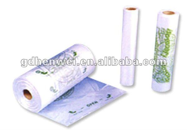 suppermarket shopping printed rolling packing bags