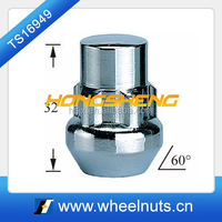 M12 x1.25 60 degree tapered locking wheel nuts