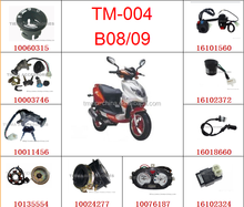 TMMP B08/09 MOTORCYCLE SPARE PARTS HIGH QUALITY