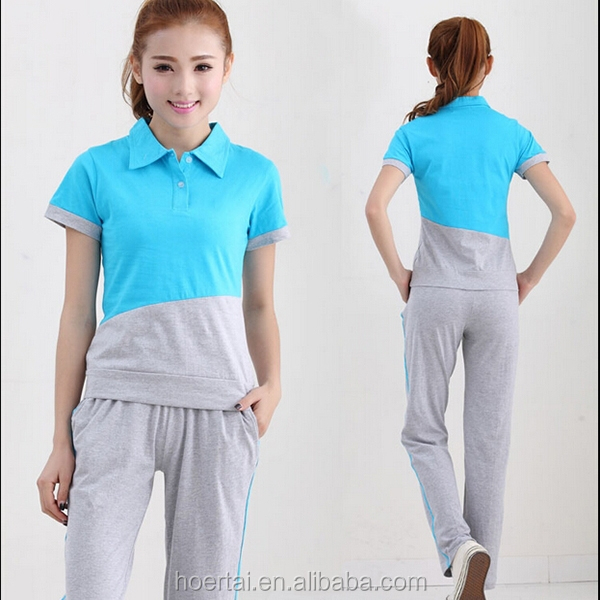 Custom Fashion Sport Style School Teacher Uniform