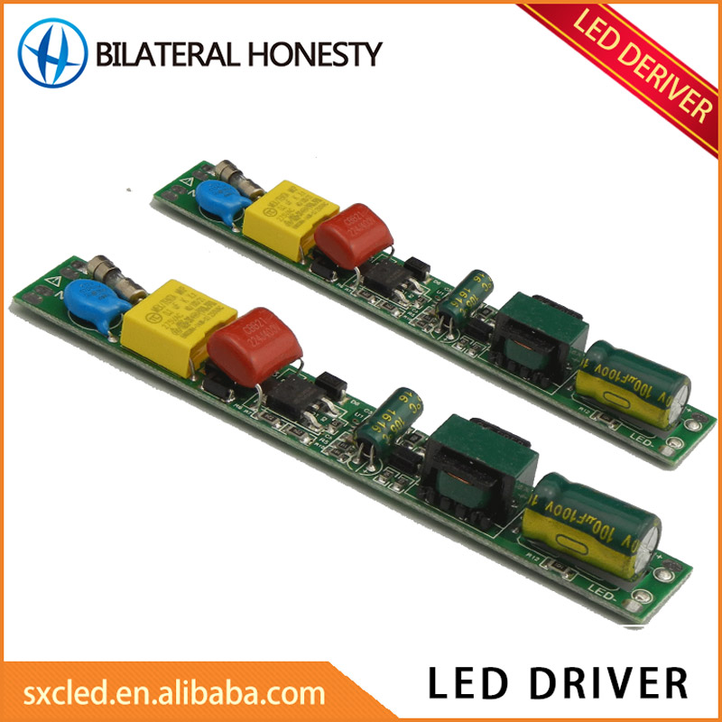 Stable and efficient low temperature rise constant current led driver for T5 T8 T10 tube light