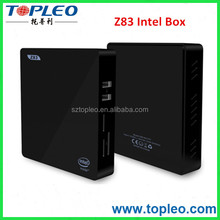 2G+32G Z83 Smart TV Box 4K 64Bits Windows10 Intel CPU Mini PC BT 4.0 Dual WIFI