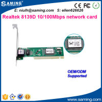 2016 cheap price RTL8139D PCI Ethernet network card/ lan adapter