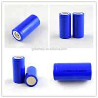 li-ion battery 32650 3.7V6000mah cylindrical li-ion battery