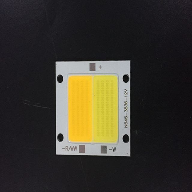 Custom china manufacturers kingbrite led cob 12v 50w 100w led chip warm white with CE/ROSH