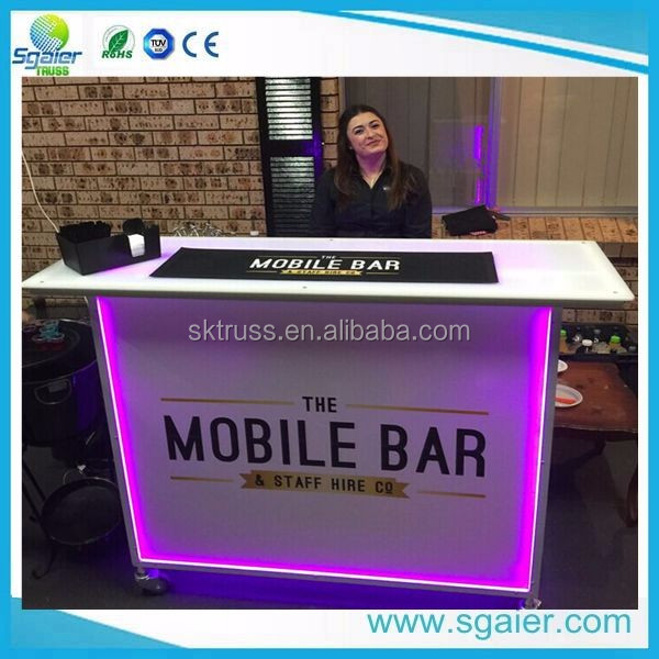 Mobile Led Portable Bar
