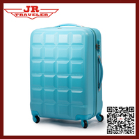 abs pc trolley bag /abs spinner suitcase /eminent abs pc luggage