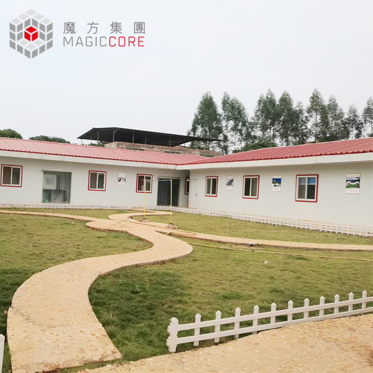 Well-designed contemporary prefabricated homes shanghai prefab house steel house prefabricated