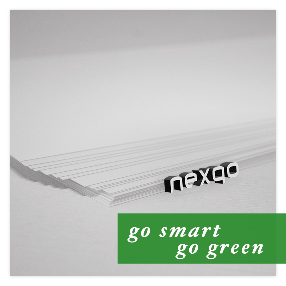 Bio-degradable White Inkjet Printable PVC Plastic Sheet for Cards Making