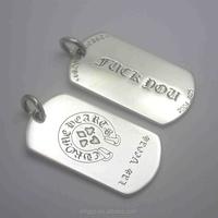 China supplier custom titanium dog tag