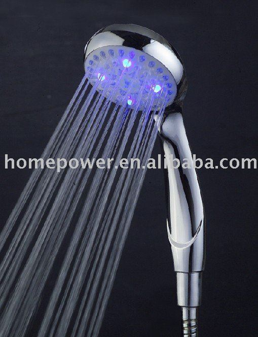 Hydro power Led shower head