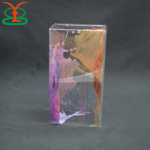 Colorful Printing Collapsible Storage Plastic Gift Packaging Box