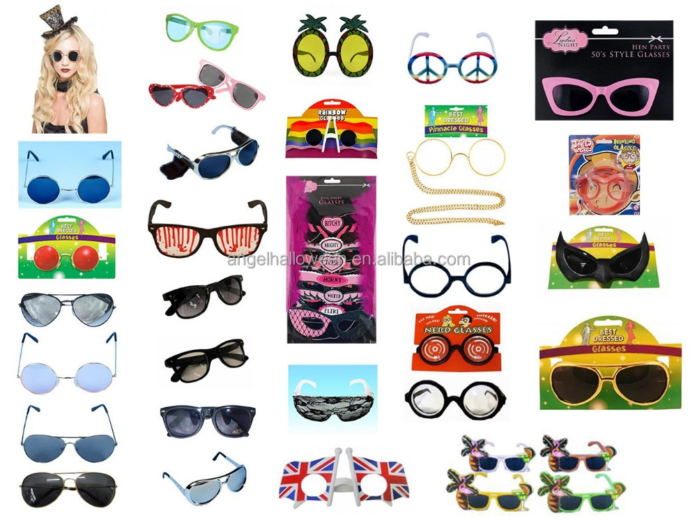 Sunglasses Novelty Fancy Dress Summer Aviator Elvis Flamingo Lennon Gaga Glasses Yeezy SG4001
