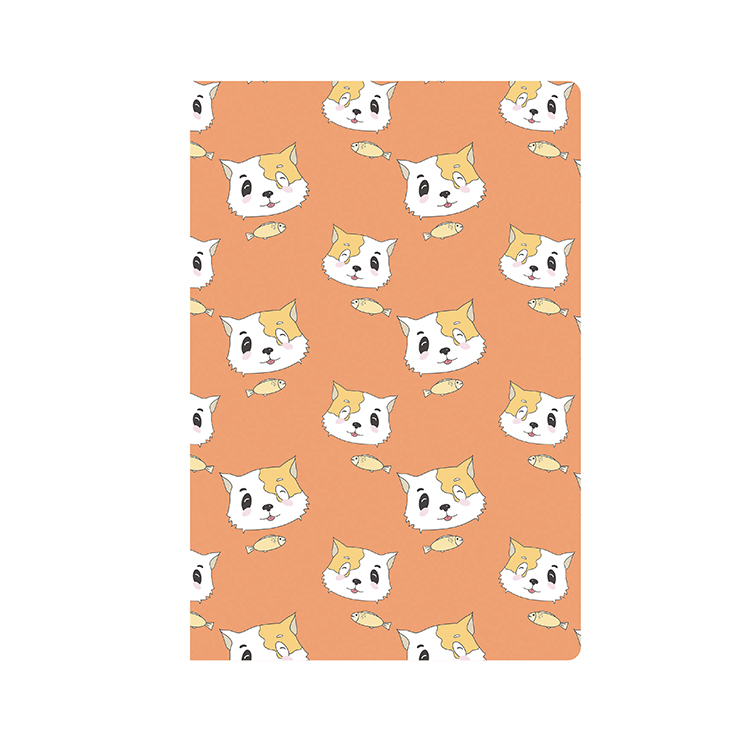 A5 A6 Paper Cute Korean Style Animal Design Notebook With Lined Pages