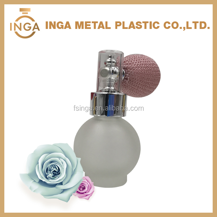 Latest Design Luxury Plastic Powder Pump For Perfume Bottle With SEBS Gasbag