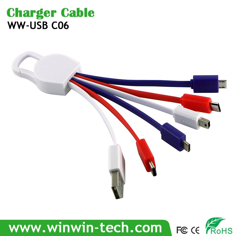 phone headset charging cable
