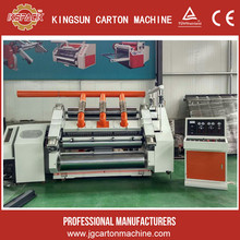 2 ply corrugated cardboard production line/single face corrugated paperboard production/carton packing machinery