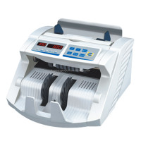 Multi-currency LED-LCD double display bank note counting machine