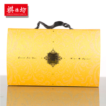 China Online Shopping Custom Logo gift box with handle