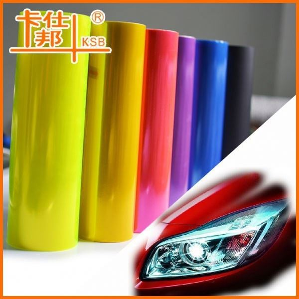 Automotive headlight vinyl film ,chameleon headlight tint film