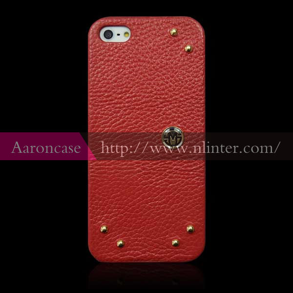 Newest Luxury Red Color Mobile Phone Case Back Case for iphone5