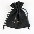Wholesale/ Custom suede drawstring bag jewelry