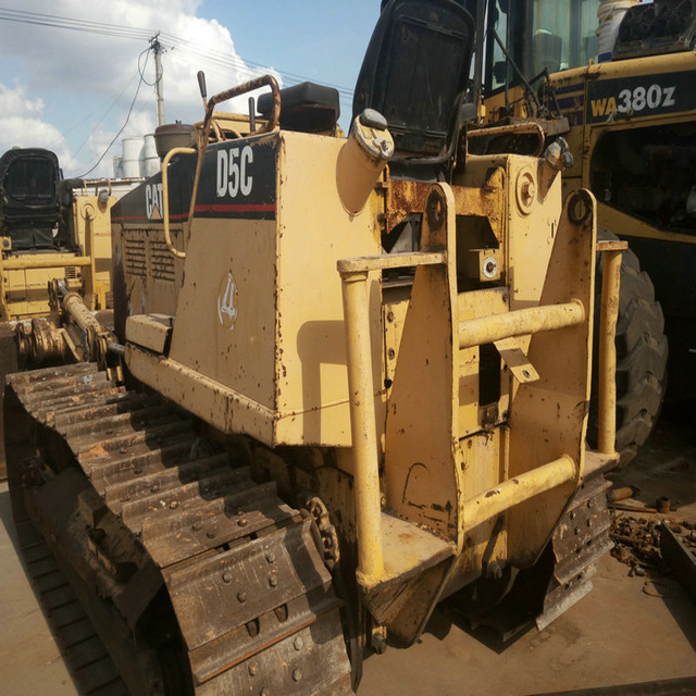 D5C used crawler bulldozer Japan's original types of bulldozer Low-cost sales