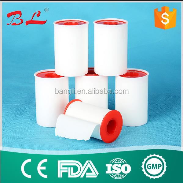 SS CE ,ISO,FDA strongest adhesive Zinc Oxide Plater surgical tape