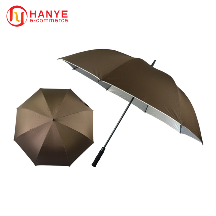 16K Solid Color Double Layer umbrella High quality strong windproof double fabric umbrella